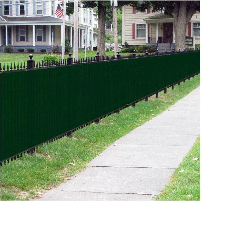 Orion Privacy Screen Polyethylene Fence Reviews Wayfair