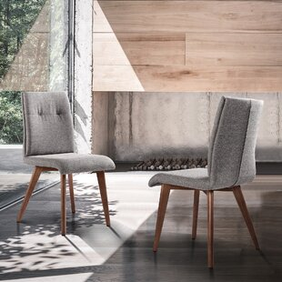 Calne Mid-Century Upholstered Dining Chair (Set of 2) Corrigan Studio