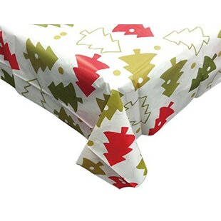 Vinyl Christmas Tablecloths   Wayfair