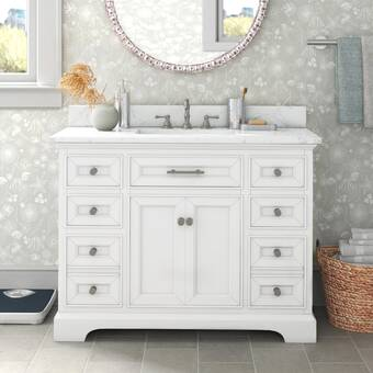 Charlton Home Daenerys 42 Single Bathroom Vanity Set Reviews Wayfair