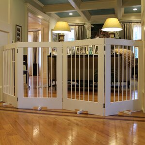4 Panel Tall Pet Gate