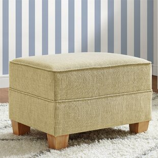 Harriet Bee Bender Upholstered Ottoman