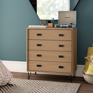 Find West Oak Lane 4 Drawer Dresser by Mercury Row