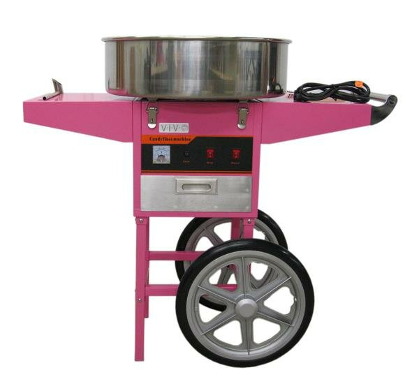 Popcorn Maker Retro Machine /& Cotton Candy Floss Making Electric Machine Carts
