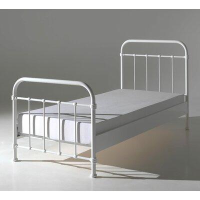 Metallbett Alley | Schlafzimmer > Betten > Metallbetten | Pulverbeschichtet | Harriet Bee