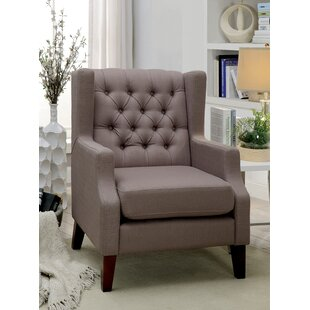Janae Contemporary Wingback Chair by Winston Porter