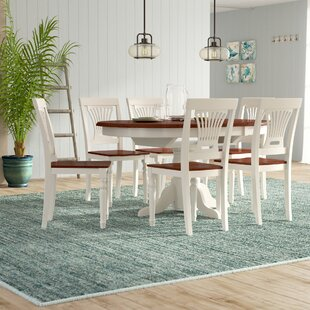 Norris 7 Piece Dining Set by Beachcrest H..