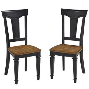 Collette Solid Wood Dining Chair (Set of 2) by August Grove