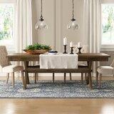 Poe Cross-buck Extendable Dining Table by Gracie Oaks