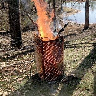 Pro-Series Sportsman Steel Fire Ring