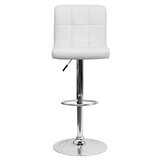 Hirano Swivel Adjustable Height Bar Stool