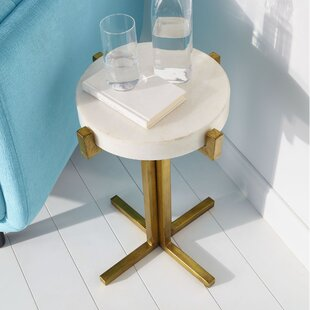 Reviews Discus End Table by Cyan Design