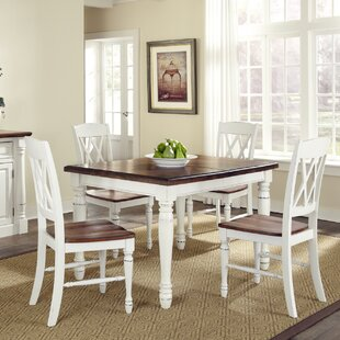 Giulia 5 Piece Solid Wood Dining Set