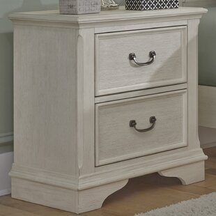 Compare prices Trenton 2 Drawer Nightstand By Rosecliff Heights
