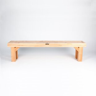 Cathedral Wooden Bench By Fat Leaf