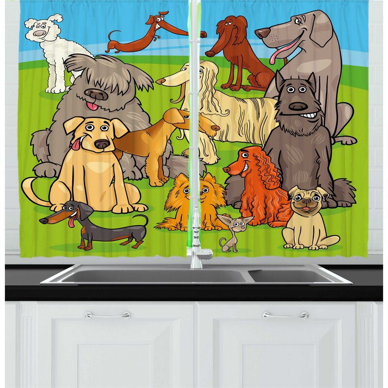 East Urban Home 2 Piece Cartoon Funny Nursery Themed Graphic With
