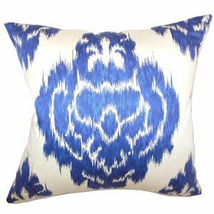 Maroc Ikat Cotton Throw Pillow