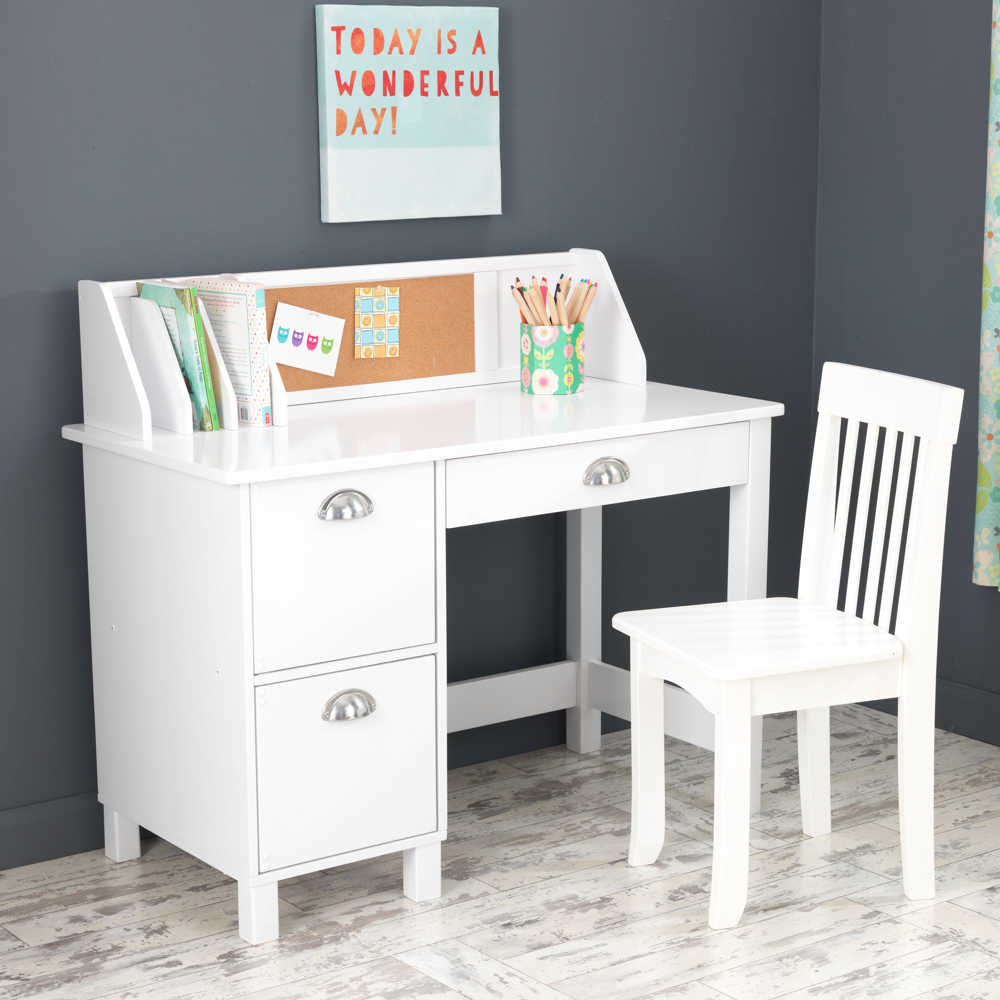 Kidkraft Kids 35 75 Writing Desk With