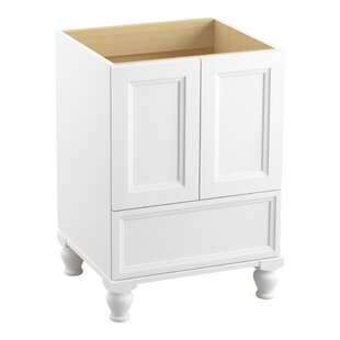 Damask? 24 Vanity with Furniture Legs, 2 Doors and 1 Drawer by Kohler