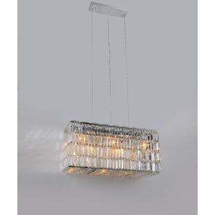Blalock 10-Light Crystal Chandelier by Me..