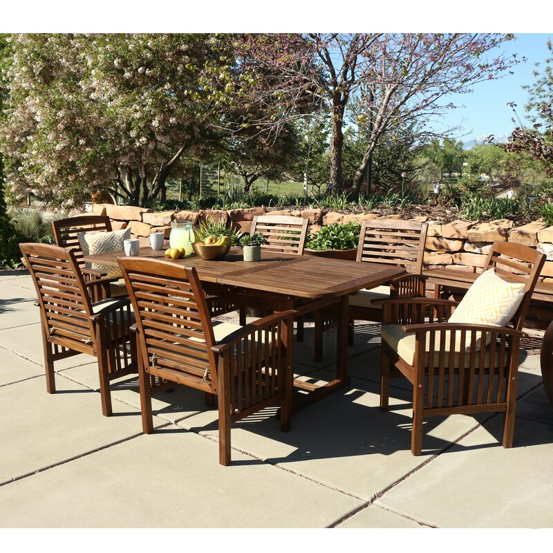 Widmer 7 Piece Dining Set