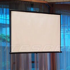 Tripod Series White 120 Portable Projection Screen