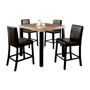 Baylor 5 Piece Counter Height Pub Table Set