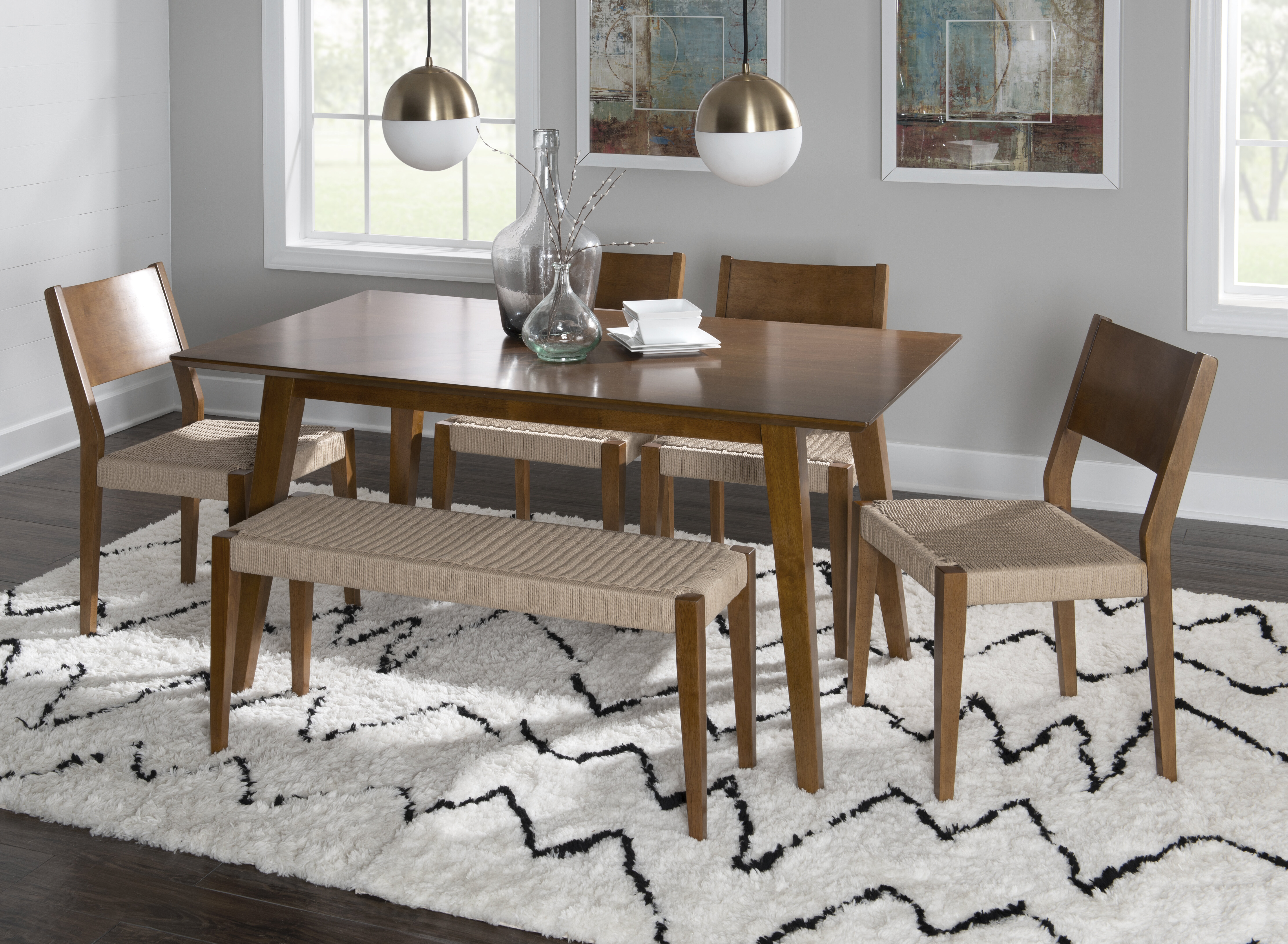 Alistair 6 Piece Dining Set Reviews Joss Main