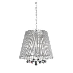 ORE Furniture Crystal Dreamer 3-Light Cone Pendant