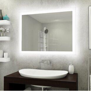 Backlit Bathroom Mirror Led Wayfair