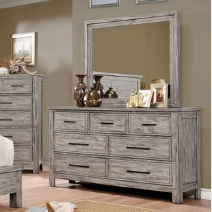 Loon Peak Reynolds 7 Drawer Double Dresser
