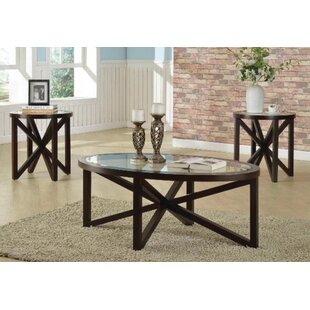 Carraway 3 Piece Coffee Table Set