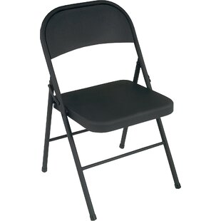 Metal Folding Chair (Set of 4) by Cosco Home and Office