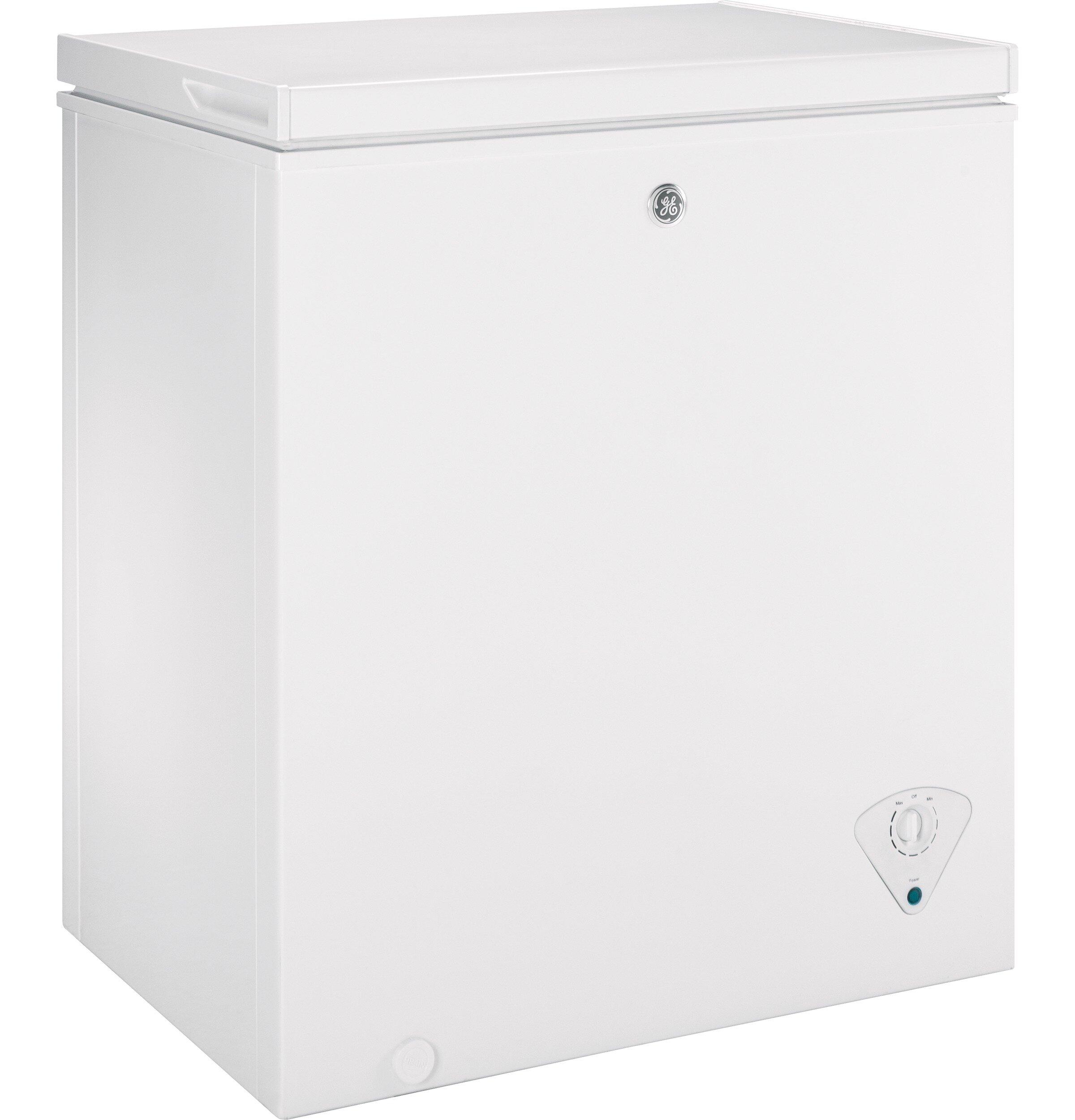 Ge Appliances Garage Ready 5 Cu Ft Chest Freezer Reviews Wayfair