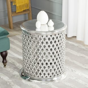 Metal Lace Accent Stool by Safavieh