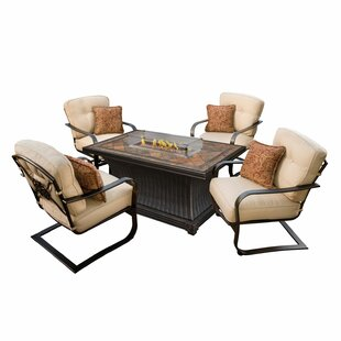 Red Barrel Studio Kirschner 5 Piece Conversation Set with Cushions