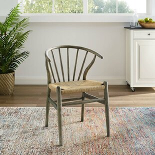Weedman Solid Wood Dining Chair Bungalow Rose