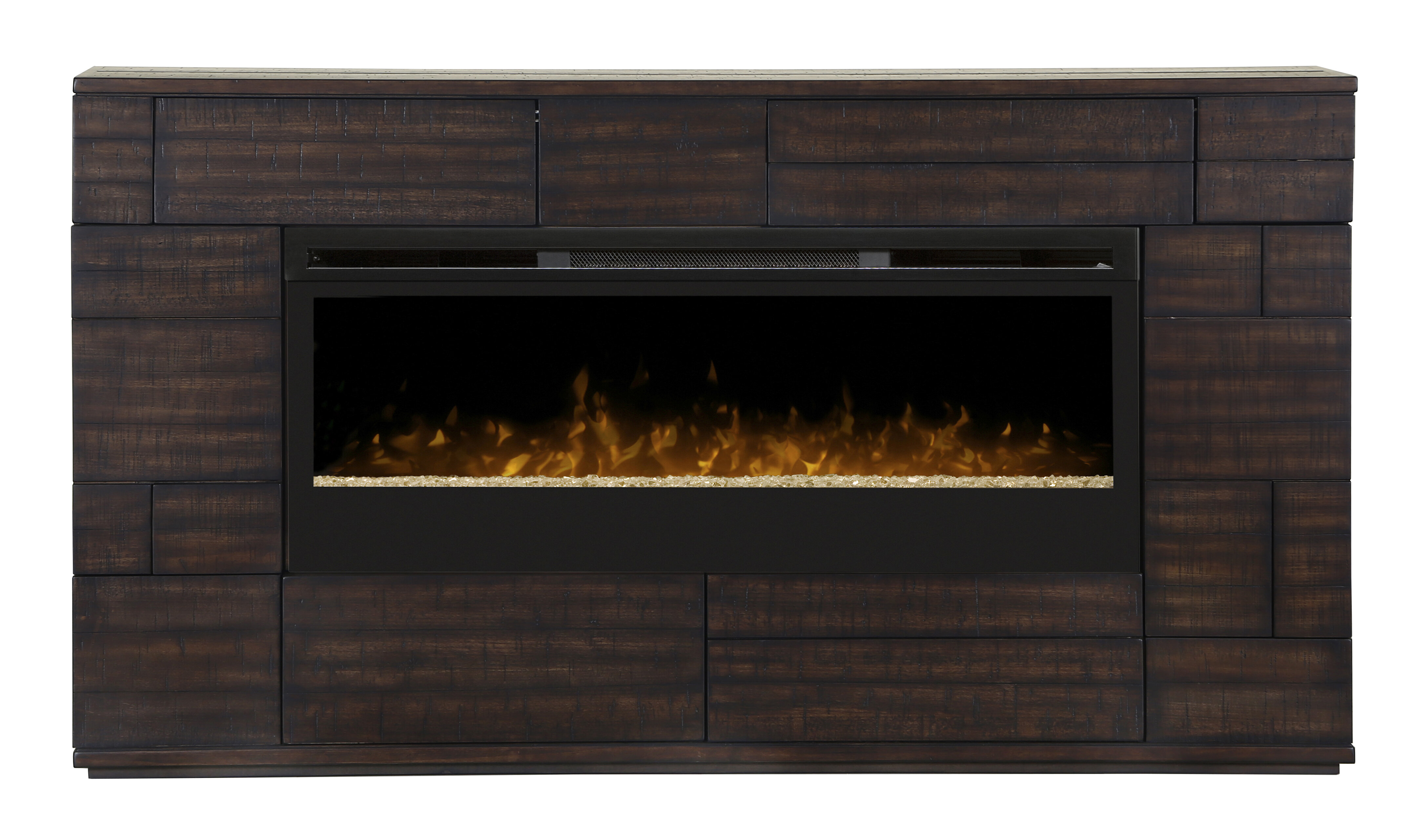 electric stand classic up media console products fireplace s luxe for flame with to tv