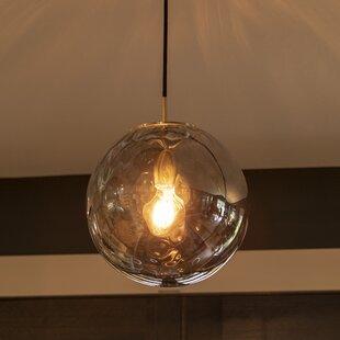 Wrought Studio Bertha 1-Light Globe Pendant