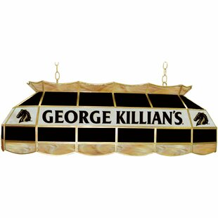 Trademark Global George Killian 3-Light Pool Table Light
