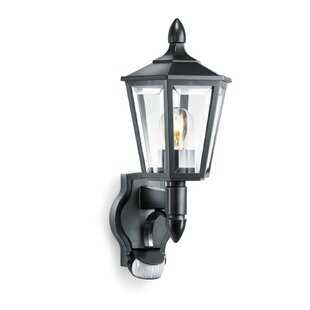 Check Price 1 Light Outdoor Wall Lantern With Sensor