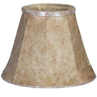 20 Faux Leather Bell Lamp Shade
