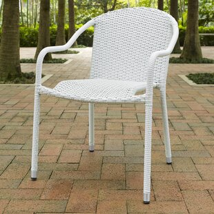 Mercury Row Belton Stacking Patio Dining Chair (Set of 4)