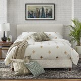 Faszcza Queen Upholstered Standard Bed by Latitude Run®
