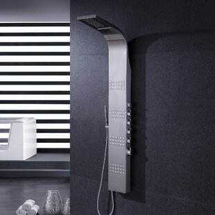 Pressure Balanced Rain Shower Head Shower Panel