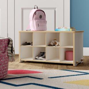 Deals Halle Kids Cubby Shoe Storage Bench ByViv + Rae