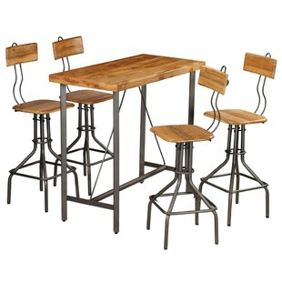 Onondaga Dining Set With 4 Chairs By Williston Forge