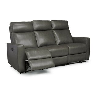Pell Leather Reclining Sofa by..