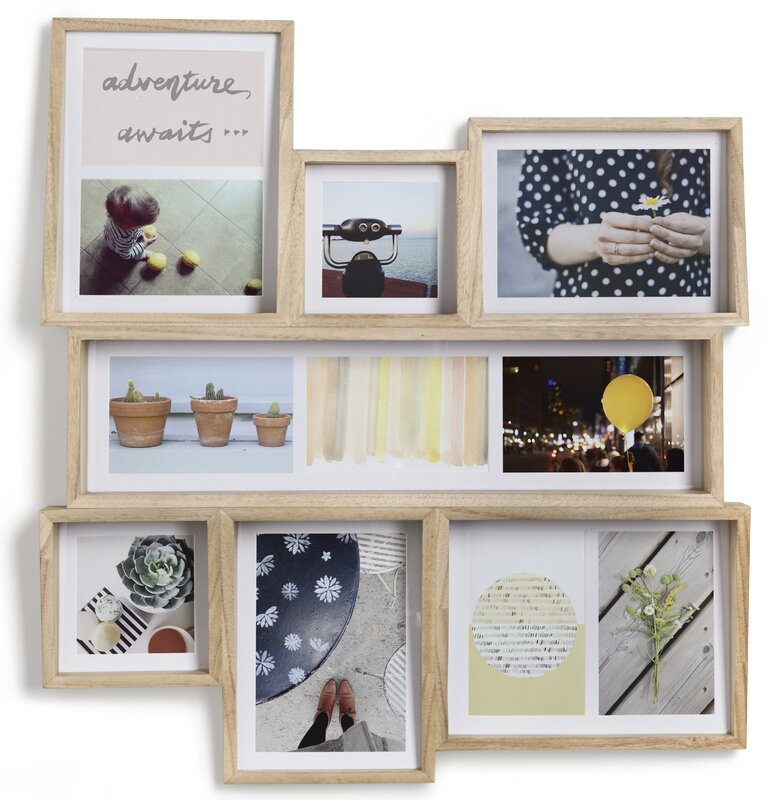 Edge 7 Opening Collage Wall Picture Frame & Reviews   AllModern