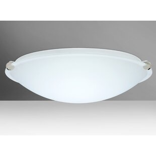 Besa Lighting Trio 3-Light Outdoor Flush Mount